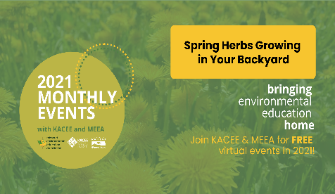 Spring Herbs Growing in Your Backyard co-hosted by MEEA and KACEE